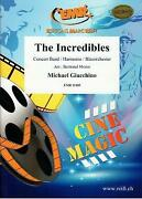 The Incredibles Michael Giacchino Concert Band Music Set Score And Parts