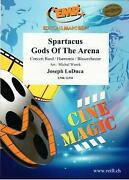 Spartacus Gods Of The Arena Joseph Loduca Concert Band Music Set Score And Parts