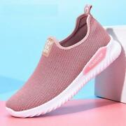 Womens Sneakers Summer Socks Ladies Fashion Flat Trainers Casual Athletic Shoes