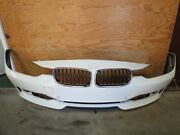 ✅ 12 13 14 15 Bmw 3-series Front Bumper Cover Assembly W Grills White Oem