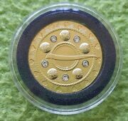 Latvia 2018 75 Euro Gold Brooches Bubble Proof Fibula Coin Low Mintage Perfect
