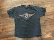 Vintage Freedom Harley-davidson T-shirt N. Canton Ohio Motorcycles Made In Usa