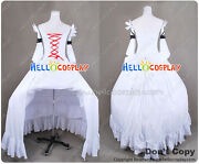 Pandora Hearts Cosplay Will Of The Abyss White Rabbit Dress H008