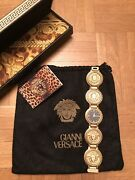 Gianni Versace Ladies Watch Gold-plated Vintage Ebel Swiss Medusa New