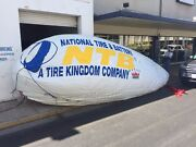 8m 26' Ft Inflatable Advertising Blimp /promotional Flying Balloon