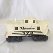Marx Nyc Pacemaker White And Black Caboose