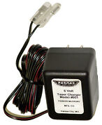Electric Fence Battery Charger, 6-volt
