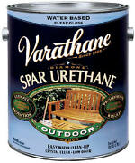 Varathane Gallon Outdoor Crystal Clear Semi-gloss Finish - Pack Of 2