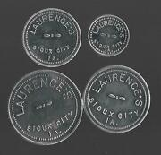 Laurence's Sioux City Ia Good For 25c 10c 5c 1c In Foodgem Unc Shinny New