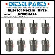 6pcs Injector Nozzles Tip Dn0sd311 0434250896 Fit Gm And Chevrolet 6.2/6.5l Diesel