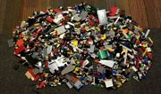 Lego Mixed Assorted Parts, Accessories, And Minifigures Lot Approx. 15 Lbs