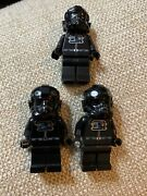 Lego Star Wars Tie Fighter Pilot Minifigure Minifig From Set 9492, 9676 Sw0268a