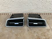15 Maserati Ghibli S Front Left And Right Side Dash A/c Heater Air Vent Grille Oem