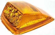 Led Top Of Cab Clearance Light For Kenworth 17 Amber Leds/amber 39527 Set Of 5