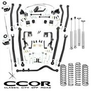 4in Jeep Long Arm Lift Kit For 2007-2011 Jeep Jk