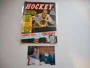 Bobby Hull And Stan Mikita Autographed 1968 Sports Special Hockey Magazine