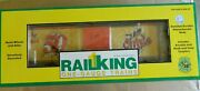 Mth Rail King 1 Gauge Baltimore Orioles Boxcar Opening Doors New Ship Free In Us