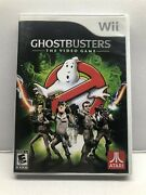 Ghostbusters The Video Game Nintendo Wii, 2009 Complete W/ Manual Free Ship