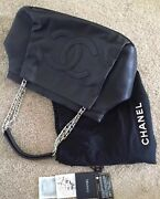 4850 Authentic Black Xl Large Tote Bag/card/dustbag