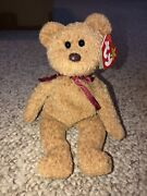 Curly The Bear Ty Beanie Baby Great Condition