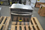 Ge Pt9050sfss 30 Stainless Single Electric Wall Oven Nob 25813 Hl