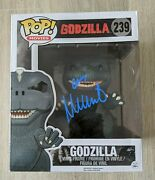 Millie Bobby Brown Signed Funko Movies Godzilla 6 Inch Pop King Of Monsters