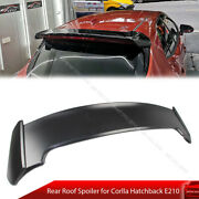 Fit For Toyota Corolla 5d E210 Auris B Style Rear Roof Spoiler Unpainted 19+