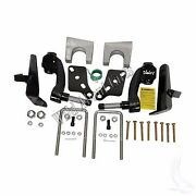 Jakeand039s 6 Drop Spindle Lift Kit Club Car Ds Golf Cart With Metal Dust Covers