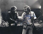 George Lucas And Steven Spielberg Star Wars Indiana Jones Signed 8x10 - Rare K9