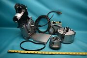 Used Bodine Motor Controlled Index Positioner With 2 4 Jaw Chucks