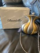 Daniella Miniature Purse With Double Sided Mirror New With Tag And Box