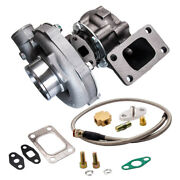 T04e T3/t4 .63a/r 57 Trim Universal Turbo 400+hp Boost Stage 3 Oil Feed Line 4an