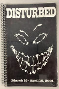 Disturbed Tour Book Itinerary Book 2001 Us Tour Tough To Get Band Numbers Cool