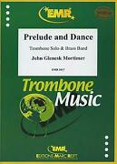 Prelude And Dance Trombone Solo Brass Band Emr Music Set Score And Parts