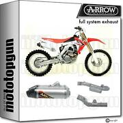 Race Slip-on Complete 1t Arrow Th Titanium C Honda Crf 250 R 14/16