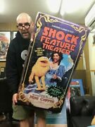 Schrab Home Video Giant Vhs Tape Box - Shock Feature Theater