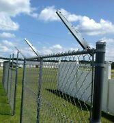 Extend-an-arm Barbed Wire Barbwire Extension Chain Link Fence -set 6 Size 1-5/8