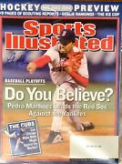 Pedro Martinez Signed Sports Illustrated 10/13/03 Issue Si Boston Red Sox
