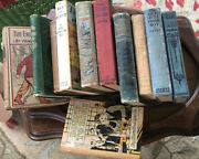 Lot Of 11 Antique, Beautifully Illustrated Childrens Books