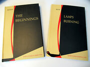 American Benedictine Academy 2 Book Lot Behind The Beginnings With Lamps Burning