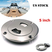 5 316 Stainless Steel Polished Deck Cabin Plate Boat Marine W/detachable Cover