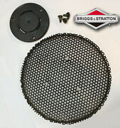 Vintage Briggs And Stratton Flywheel Screen Spacer With Screws Screen Adapter