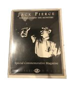 Jack Pierce The Man Behind The Monsters Magazine Uncirculated Universal Monsters