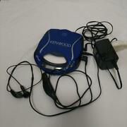 Kenwood Dpc-x507 Portable Cd Player Blue Tested Working Good F/s