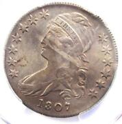 1807 Capped Bust Half Dollar 50c Coin 50/20 - Certified Pcgs Xf Details Ef