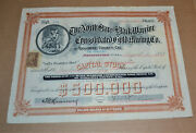 The North Star And Black Warrior Consolidated Gold Mining Co. 1899 Antique Stock