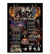 Kiss End Of The Road Hell Of Japan Memory Poster Tour Dates From Japan New
