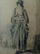 Jean-antoine Watteau 1684-1721 And039womanand039s Dressand039 Ca 1710 Old Master Print Rococo