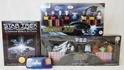 Lot Of Star Wars And Star Trek Pez Collectible Dispensers And Other Items
