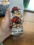1980's Dudley Do-right P.a.t. Ward Pepsi Collector's Glass Mint